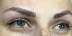 microblading eyebrows, calne beauty salon