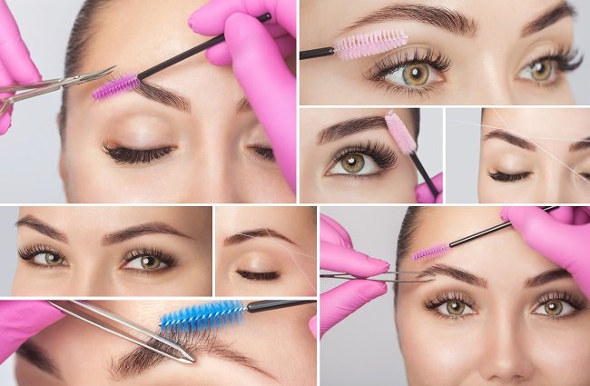 Brow Shaping and Tinting Calne Wiltshire Beauty Salon
