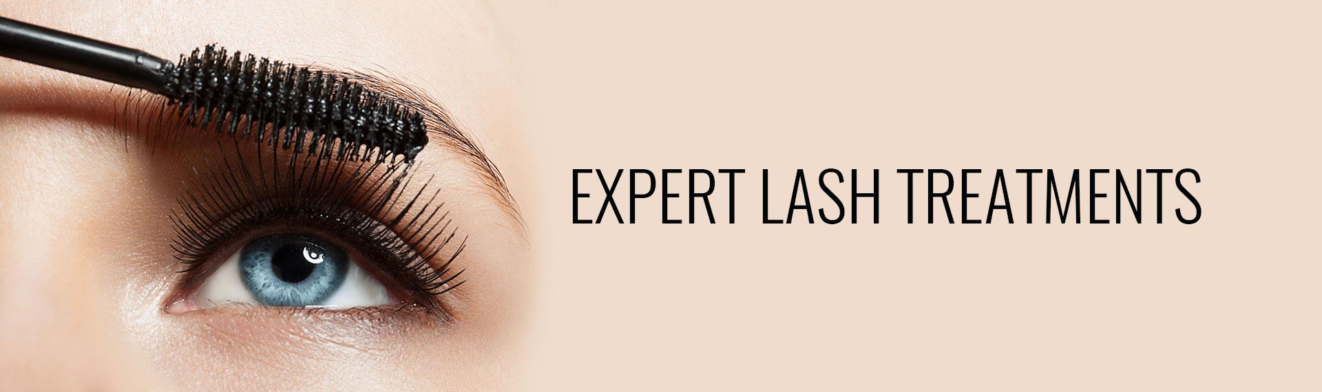 Expert Lash Treatments inner banner
