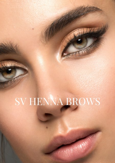 Sara Victoria Beauty Courses Henna Brows